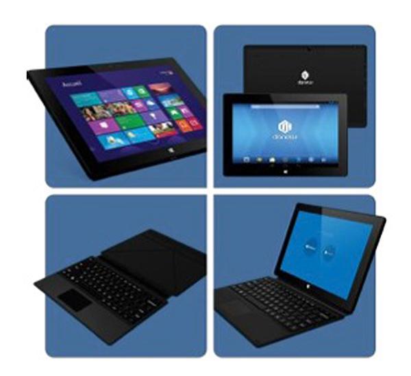 danew lance une tablette quad core dual boot android windows 8 1 pas cher. Black Bedroom Furniture Sets. Home Design Ideas